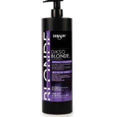 Dikso-Blonde-Shampoo-Antigiallo-Tonalizzante-Doppia-Concentrazione-1000-ml